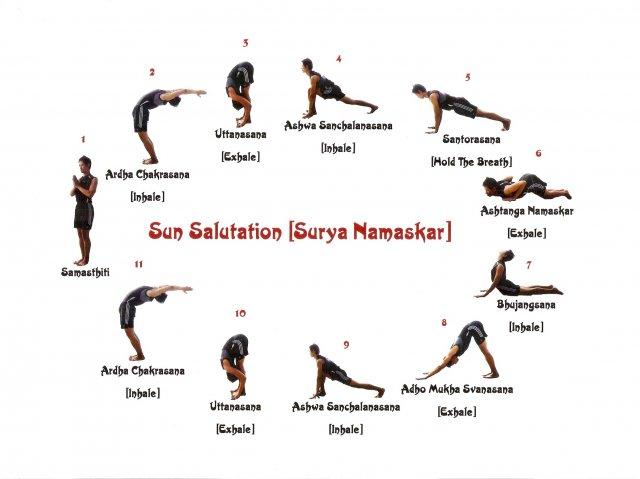 >> Cinco minutos para saudar o Sol (Surya Namaskar – Yoga)