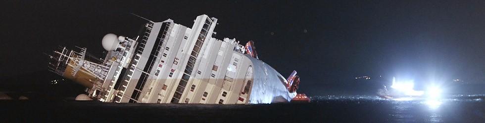 """>> Sala de espera 17 – Concordia """"…e la nave NON va…"""""""