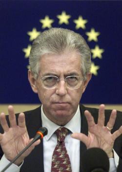 >> Mario Monti, lobista dos bombanqueiros da OTAN – sinergia entre bombas e bancos, bombardeios e bombanqueiros