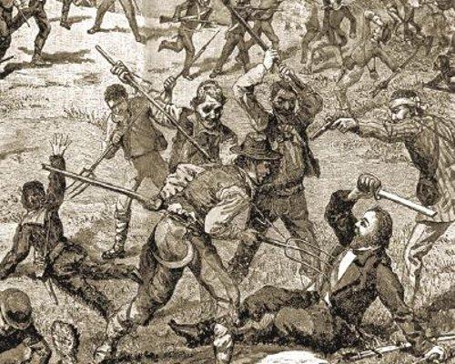 >> Revolta na Sicília – conclamando o povo a empunhar o FORCADO