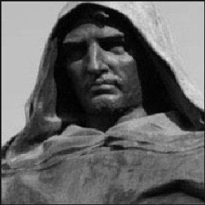 >> Cinco minutos para homenagear Giordano Bruno, e assim, homenagearmo-nos a todos
