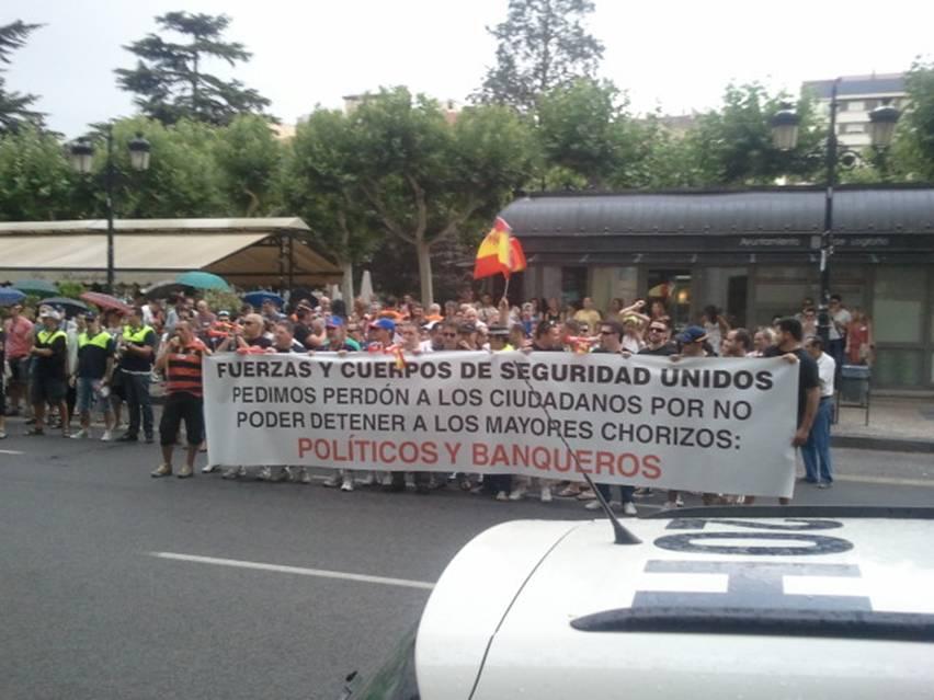 >> Quando a polícia pede perdão por não poder prender políticos e banqueiros (Espanha)
