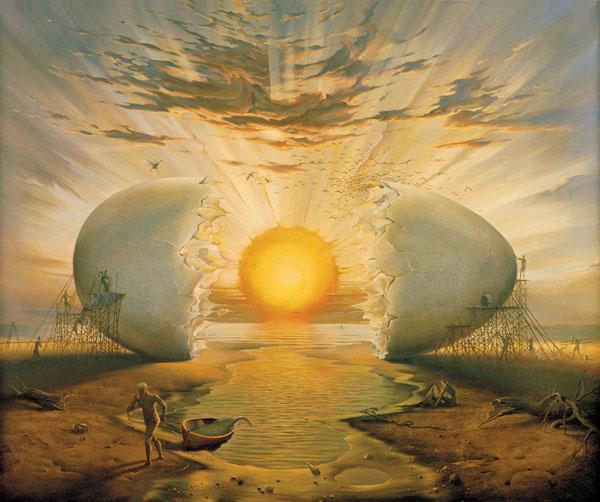 >> Mantra do Deus que botou um ovo, por Mario S. Mieli