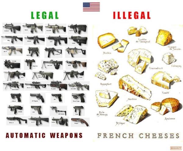 >> Sala de Espera 39 – euasincrasias… armas automáticas? LEGAIS!  queijos franceses? ILEGAIS!