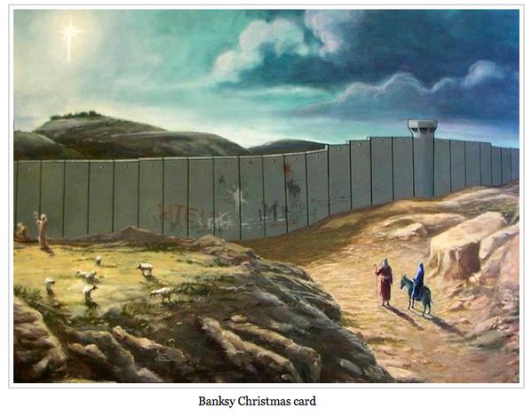 >> iMundo 9 – Banksy Christmas Card
