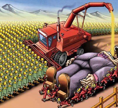 >> Da soberania alimentar perdida à escravidão, por Gianni Tirelli