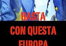 >> Arregaçando as Mangas 5 – Itália pára. Para dar um BASTA! Sim à soberania, não à euroescravidão!