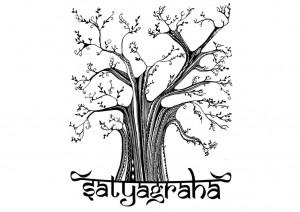 Satyagraha na era da 'pós-verdade'   por Vandana Shiva