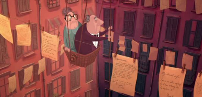 Cinco minutos para Achados e Perdidos – Lost Property, animação de Asa Lucander